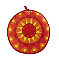IMUSA USA MEXI-10007 Sunburst Cloth Tortilla Warmer, 12-Inch, Yellow/Red/Orange