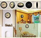 MJY8 Retro Lounge Mute Wanduhr zeigt alte Taschenuhr rund um die Uhr Haus der Wanduhr (Boss: E)