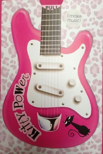 Pull Out Pink Guitar Cats Birthday Sound Card Noisy Inventions Greeting Cards