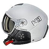 HMR–Skihelm/Snow HMR H3weiß–Unisex–Weiß, weiß