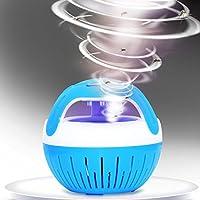 STRIR Mosquito Killer Lamp - Luz de carga nocturna USB - Luz asesina del mosquito de la succión, Anti repelente de mosquitos para el hogar, Cocina, Oficina, Dormitorio de bebé, Camping de viaje