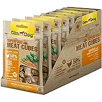 GimDog - Conos de Comida para Perros con un Alto Porcentaje de Carne, 8 Bolsas (8 x 40 g)