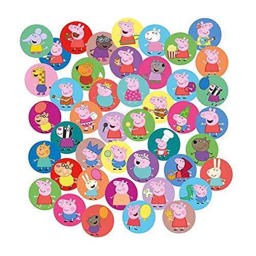 250-teiliges Konfetti * Peppa Pig * als Deko für Kindergeburtstag und Mottoparty | Wutz Tischdeko