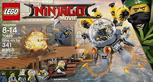 Lego Ninjago Sottomarino Flying Jelly,, 70610