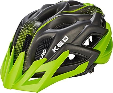 KED Status Jr. Kopfumfang M 52-59 green black matt