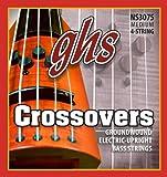 Ghs nS 3075 crossovers modèle basse 4 cordes noir)