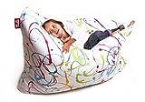 Sitzsack XL Tuli Sofa 100% Polyester 130 x 110 x