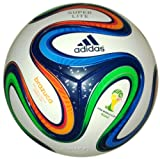 adidas Fußball Brazuca 290 Junior, Weiß/Multicolor, 4, F82347