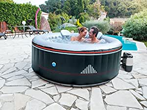 39 netspa montana jacuzzi pour 4 personnes 2 2 jardin. Black Bedroom Furniture Sets. Home Design Ideas