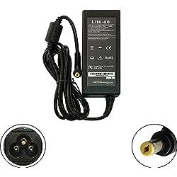 Lite-an Chargeur pour Packard Bell EasyNote TS (Tous Les modèles) Ordinateur PC Portable - Adaptateur d'alimentation 65W 19V 3.42A