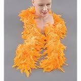 Feather Boa. Yellow