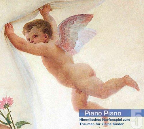Piano Piano 5 - Harfe. Himmlisches Harfenspiel zum Tr???umen f??r kleine Kinder. Ruhige und sanfte klassische Musik f??r Babys. Einschlafhilfe und Beruhigungsmusik by markensound records (Erik Satie-piano-musik)