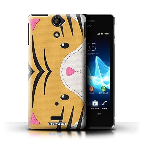 iChoose® Print Motif Coque de protection Case / Plastique manchon de telephone Coque pour Apple iPhone 5/5S / Collection Cousu des Animaux Effet / Requin Tigre