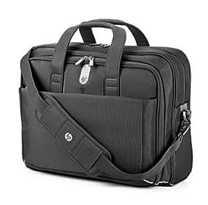 "HP H4J90AA 15.6"" Briefcase Black notebook case - notebook cases (39.6 cm (15.6""), Briefcase, Black, Monotone, Dust resistant, Scratch resistant, 419 mm)"