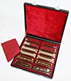 Set de 12 Harmonicas Swan en valise ~ Neuf and Garantie