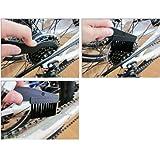 2praktische Fahrrad Reiniger Bike Kette Reinigung Werkzeug Scrubber