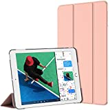 Etui New iPad 2017, JETech Coque Nouvel Apple iPad 9.7 2017 Housse Case Cover Léger avec Support et Réveil/Sommeil Automatique (Or Rose)