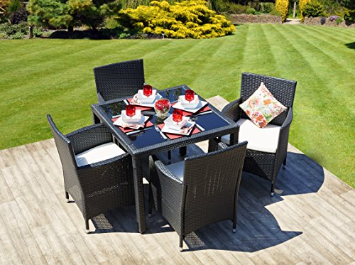 new-5-piece-rattan-dining-table-for-conservatory-patio-garden-furniture-black