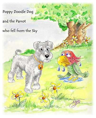 Poppy Doodle Dog and the Parrot who fell from the Sky (English Edition) -
