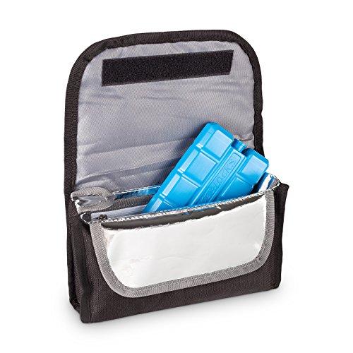 TravelSafe Unisex Hygiene ISO Medi Bag mit Kühlakku, Blau, 21x 6x 14cm