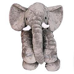 Idea Regalo - Elefante, Baby bambini cuscino nanna per bambini elefante Pillow peluche bambino erzier cuscino morbido cuscino imbottito elefante accoglienti Comfort ablen peluche per neonato o adulti by yhanonal