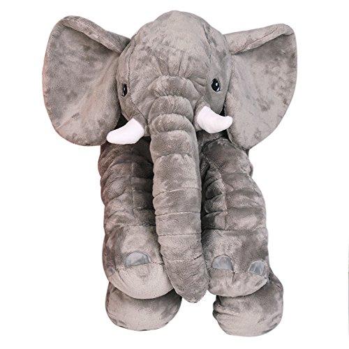 Elefante Cojín, almohada Baby Niños Pequeños. Dormir elefante Pillow Peluche Niño erzier...