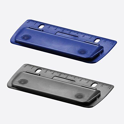 Herlitz 10696250 Mini-Taschenlocher farbig sortiert zum Einheften und für unterwegs