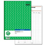 Sigel AM415 Aufmaßbuch, mit Blaupapier, DIN A4, 50 Blatt