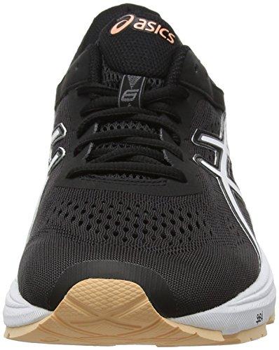 Asics Gt-1000 6, Chaussures de Gymnastique Femme Noir (Blackcanteloupecarbon 9030)