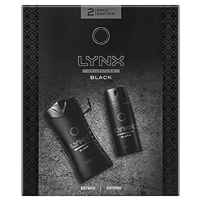 Lynx Collection Black Edition Shaving Kit