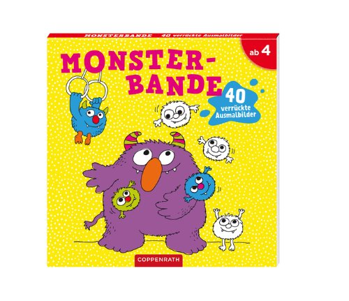 Gratis Monsterbande 40 Verrückte Ausmalbilder Pdf Download