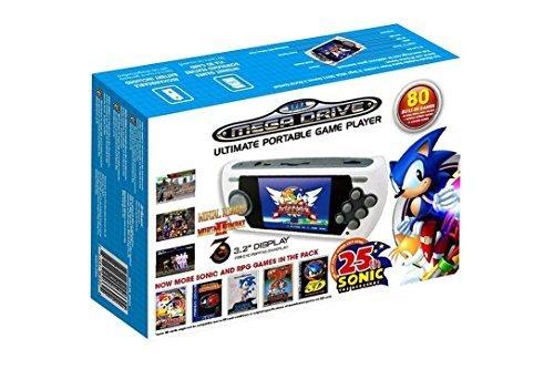 Consola Retro Mega Drive Ultimate Portátil, Edición Sonic 25th Anniv