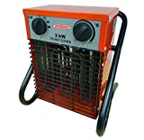 BOSMERE N296 3 kW IPX4 Industrial Greenhouse Heater - Multi-Colour