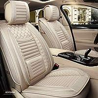 أغطية مقاعد سيارة مخصصة كاملة من جلد البولي يوريثان غطاء مقعد فاخر أمامي خلفي غطاء وسادة مناسب لـ VOLVO XC90 2007-2014