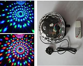 Zuwit New Arrival Club Disco DJ Party Ball Lights Music MP3 Remote Control Colors Changing Effect Mini LED Stage Lighting Spiders Web Net Lights