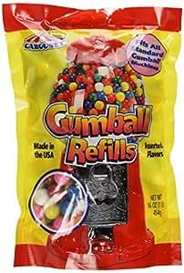 Assorted Gumballs Refill ~ 16 oz