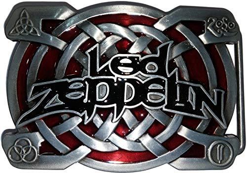 Choppershop LED Zeppelin música Rock Metal Hebilla de cinturón
