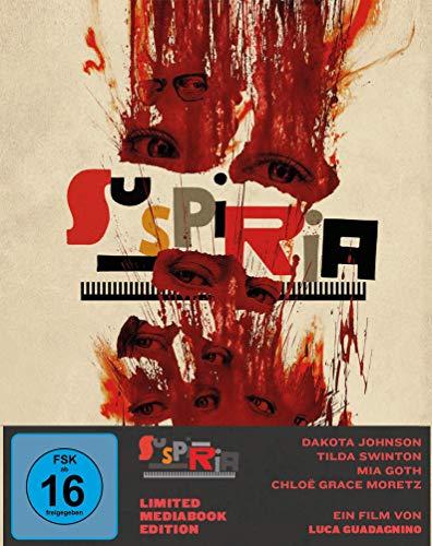 Suspiria (Mediabook, 1 Blu-ray + 2 DVDs) (Cover A)