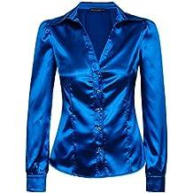 bluse royalblau