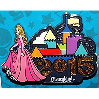 Disney Prinzessin Aurora 3D Disneyland Resort Castle Pin 2015