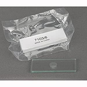 AmScope Microscope Slides Single Depression Concave Pack of 6