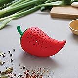Webla Silicone Chili Food Soupe Cuisine Crock Stewherb Spice Filtre À Épices En Forme De Thé En Forme De Chili