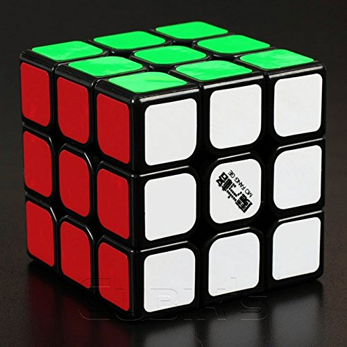 QiYi THUNDERCLAP - 3X3 Professional & Competition SpeedCube Brain Game Puzzle - BLACK