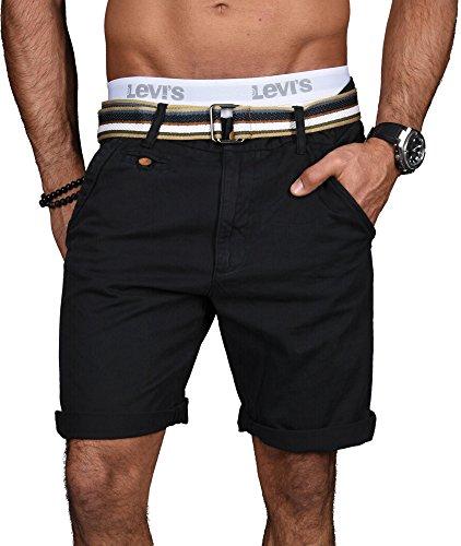 Indicode Herren Sommer Bermuda Chino Shorts kurze Hose Sommerhose Short B499