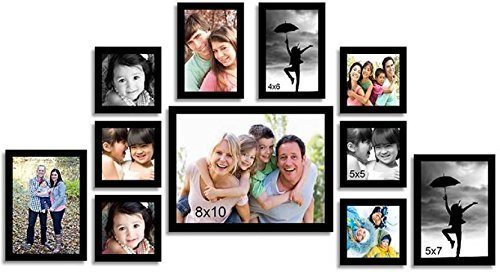 Painting Mantra Memory Wall Photo Frame Set (27 inch x 44 inch,...