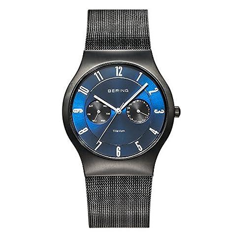 Bering Time Herren-Armbanduhr Classic Analog Quarz