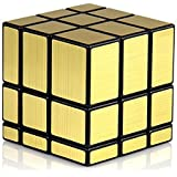 Shengshou 3x3x3 Speed Golden Mirror Magic Rubiks Cube ~ Fast & Smooth ~ No Stuck ~ Stickerless ~ Highly Recommended