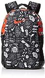 Nike Brasilia Polyester Backpack (Black/Habanero Red)