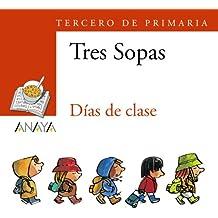 """Blíster  """" Días de clase """"  3º de Primaria (Literatura Infantil (6-11 Años) - Plan Lector Tres Sopas (Castellano)) - 9788466747837"""