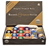Pool Billard-Kugelsatz 57,2 Aramith Tournament Pro Cup Value Pack